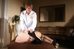 Sexy Hadjara in a hot BDSM and bondage action