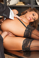 Tied Up and Spanked at the Bank starring Madison Ivy from Big Tits at Work - BRAZZERS