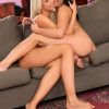 Luscious teens undress kiss and fondle each others pussies
