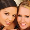 Lesbian Eve Angel & Zuzana Z toying