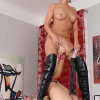 Hot Lucy Bell spanked by Laura Lee