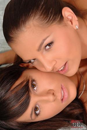Beautiful horny lesbians having sex