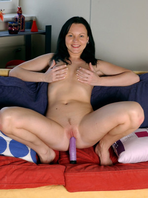 Girl With Big Toy