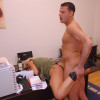Busty secretary gets pussy fucked while being passed out