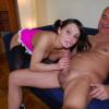 British senior sticks his big cock in her virgin asshole