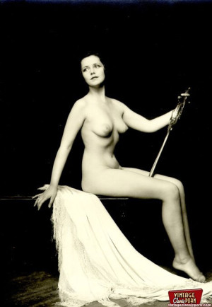 Some very real vintage artistic nudity pictures of chicks