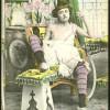 Vintage color tints chicks enjoy posing in the twenties