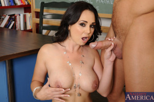 Holly West & Johnny Castle in My First Sex Teacher – Naughty America