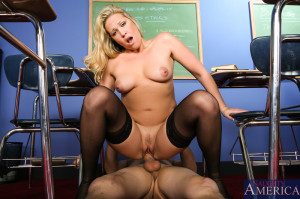 Jessie Cash & Chris Johnson in My First Sex Teacher – Naughty America