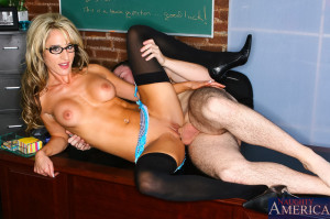 Sarah Jessie & Trent Soluri in My First Sex Teacher – Naughty America
