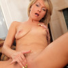 Holly Bryn  Anilos Holly Bryn strips off her lingerie and shows her tight milf body