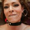 Malia Kelly - Malia chokes on fat cock while Hot latina MILF gets disgraced!