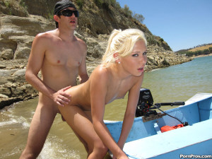 Allie Foster – Bitches get creamed on while young sweet teen gets boned on boat!