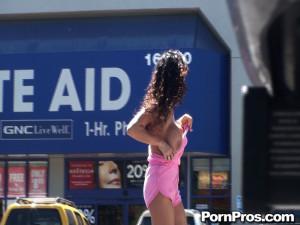 Pink Tube Top Gets Tipped – Pink Tube Top Gets Tipped