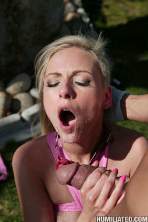 Giselle Monet – Dirty mom gets the meanest fuck of her life in the garden