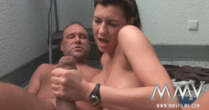 German mature housewife gets fucked outdoor by MMV Films