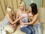 Adorable trio