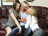 Tempting trio