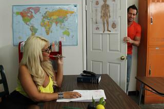 Bridgette B. & Johnny Castle in My First Sex Teacher - Naughty America