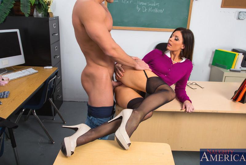 Nude porn teacher first sex my