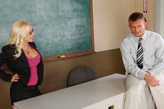 Sammie Spades & Bill Bailey in My First Sex Teacher - Naughty America