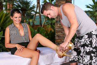 Allie Haze & Kris Slater in My Naughty Massage - My Naughty Massage