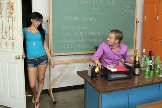 Mandy Sky & Michael Vegas in Naughty Bookworms - Naughty America
