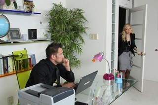 Ashley Fires & Johnny Castle in Naughty Office - Naughty America