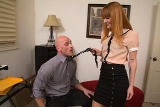 Claire Robbins & Johnny Sins in Naughty Office - Naughty America