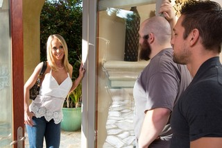 Simone Sonay & Johnny Castle in Seduced by a Cougar - Naughty America