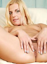 Zandora Koberova  Seductive Anilos woman with erect nipples masturbates until she achieves a heavenly climax
