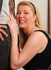 Venice Knight  Anilos Venice Knight gives her husband a nice blowjob before getting fucked