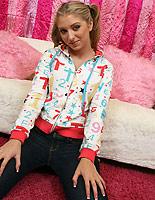 Jaelyn- pb01 - Cute teen Jaelyn sucks and fucks missionary