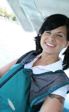 Marina - Cute 18yo Marina Rae suck and fuck missionary and doggy