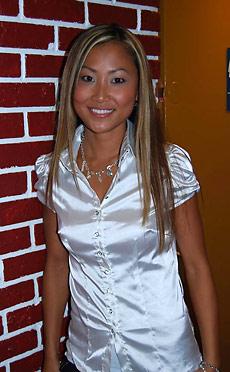 Tina - Gorgeous asian teen Tina gets nailed doggy style