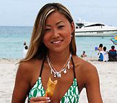 Tina - Cute asian teen Tina sucks and fucks