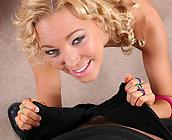 Liv Wylder - Slutty Teen Liv Wylder has sex cowgirl and missionary
