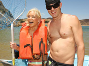 Kacey Jordan - Cute teen gets fucked on a boat ride!