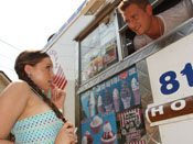 Tiffany Tylor - Teen Hottie gets her first ice cream truck fuck!