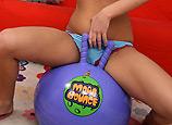 Stephanie Kane- temp6 - Wild brunette teen babe Stephanie Kane fucking reverse cowgirl and cumshot