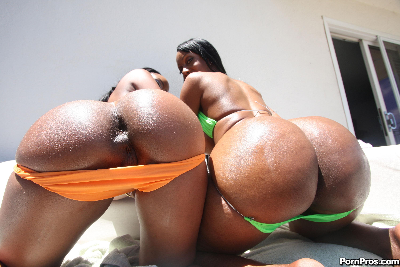 Big black ass drilled