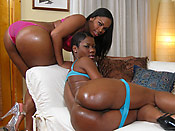Vanessa & Lux - Cheap sluts with big phat asses pleasuring a loaded cock