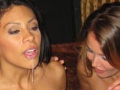 Broken Hearted And Cock Hungry - Hot girl´s slutty friends hire a stripper to take her mind off a bad breakup but they can´t contain themselves, their tits or their hunger for cock!