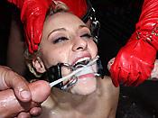 Mallory Rae - Dirty slut receiving huge nasty facials
