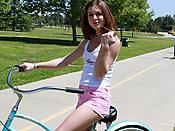 Kasey Chase - Blonde girl deepthroating a massive throbbing cock