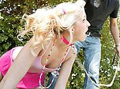 Eden Adams - Horny slut gets roped and punished hard