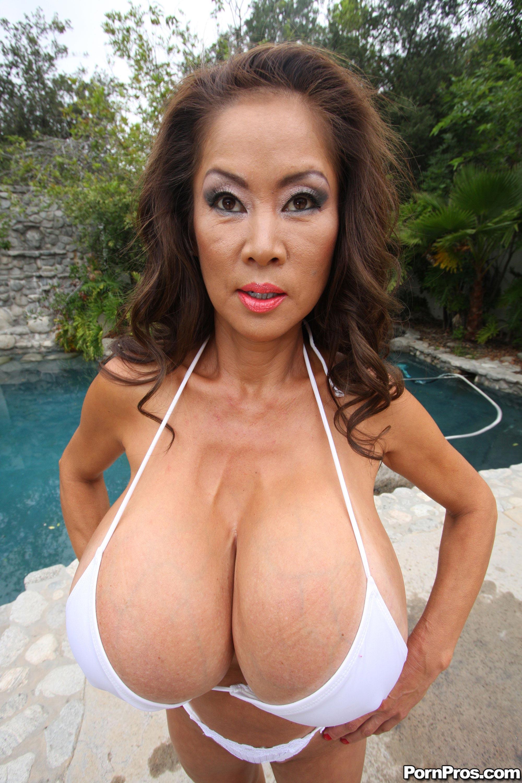 Busty mature asian women