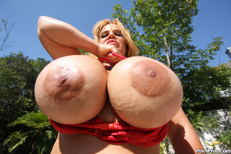 Смотреть порно с большими стоячими сиськами 18 фотография