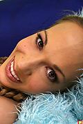 Jamie Elle - Beautiful blonde nympho Jamie teases huge black cock and cum drenched