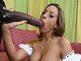 Lauren - Lauren takes a huge cock and loves it